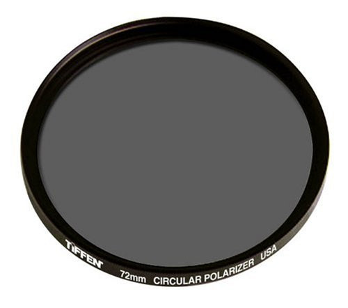 Tiffen 72mm Circular Polarizing Filter by Tiffen