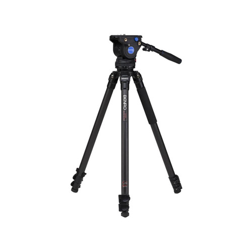 Benro C373FBV4H BV4 Carbon Fiber Video Tripod Kit 64.2""