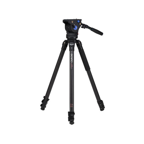 Benro C373FBV6H BV6 Carbon Fiber Video Tripod Kit 64.2""