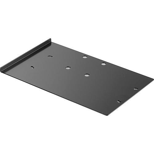 "Audio-Technica AT8628A Rack-mount joining-plate kit mounts two AEW-R4100 or AT-MX341a units in a single 19"" rack space"