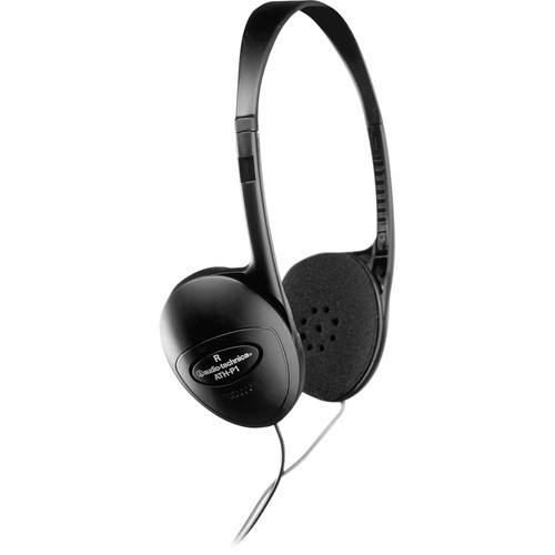 Audio-Technica ATH-P1 Lightweight open-back dynamic on-ear headphones