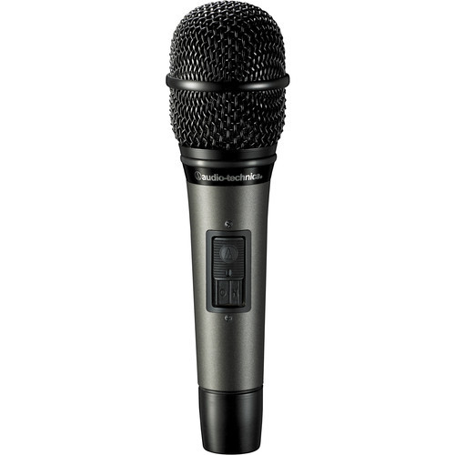 Audio-Technica ATM610A/S Hypercardioid dynamic handheld microphone with MagnaLock on/off switch