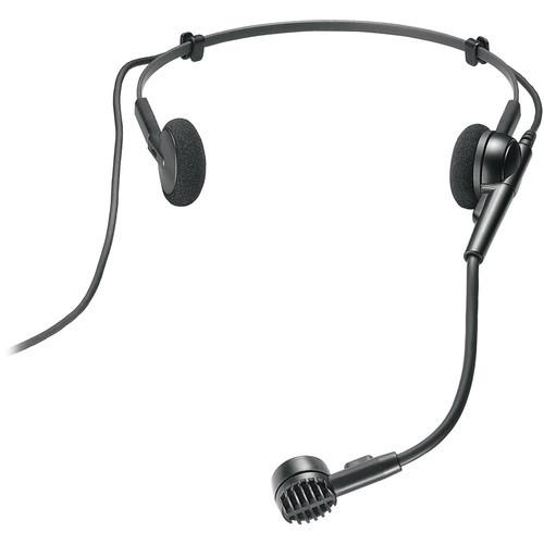 Audio-Technica ATM75C Cardioid condenser headworn microphone with 7.2' unterminated cable
