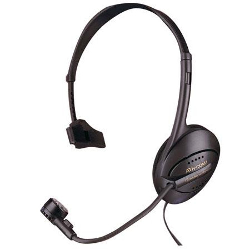 Audio-Technica ATH-COM1 Communication headset with monophone/dynamic boom microphone combination