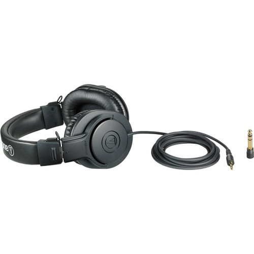 Audio Technica ATH-M20X Closed-back dynamic monitor headphones