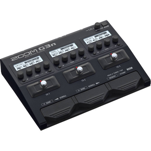 Zoom ZG3N Multi-Effects Processor Left Angle