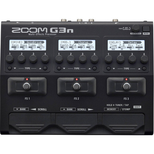 Zoom ZG3N Multi-Effects Processor Front