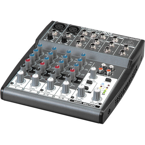 Behringer 802 802 8-Channel Compact Audio Mixer