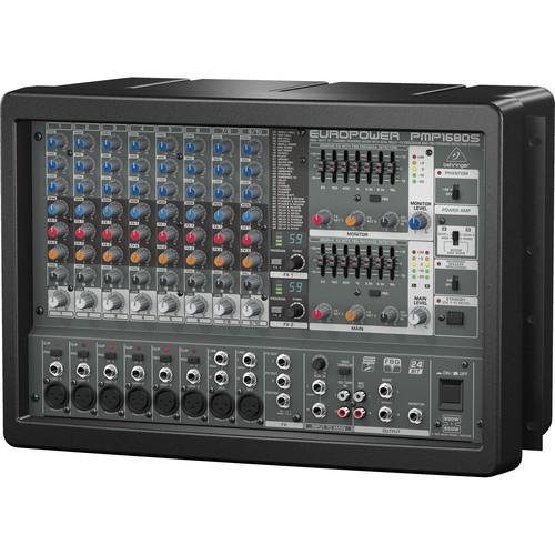 Behringer PMP1680S 10-Channel Mixer