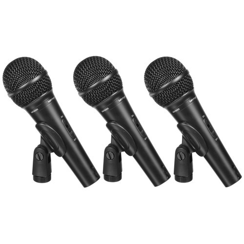 Behringer XM1800S Dynamic Microphones (Set of 3)