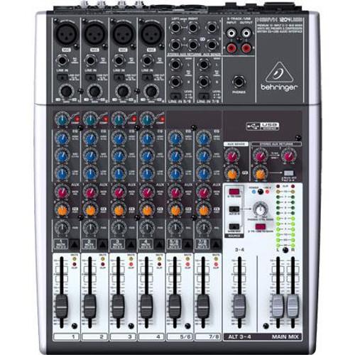 Behringer 1204USB 12-Input USB Audio Mixer