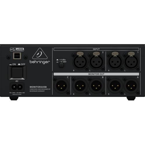 Behringer Speaker & Headphone Monitoring Controller