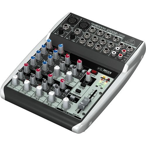 Behringer Q1002USB 10-Input, 2-Bus Small Format Mixer