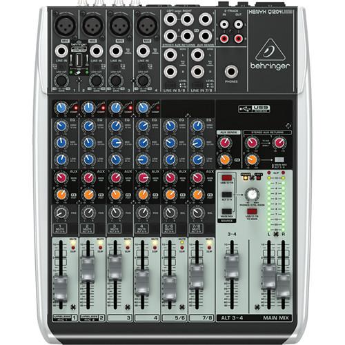 Behringer Q1204USB 12-Input USB Audio Mixer