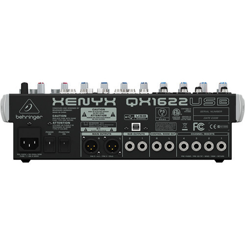 "Behringer Audio Mixer & Effects ""British""-Style Equalizer"
