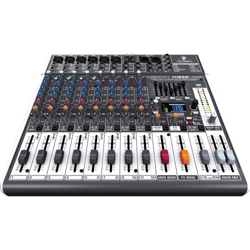 Behringer X1222USB 16-Input USB Audio Mixer with Effects