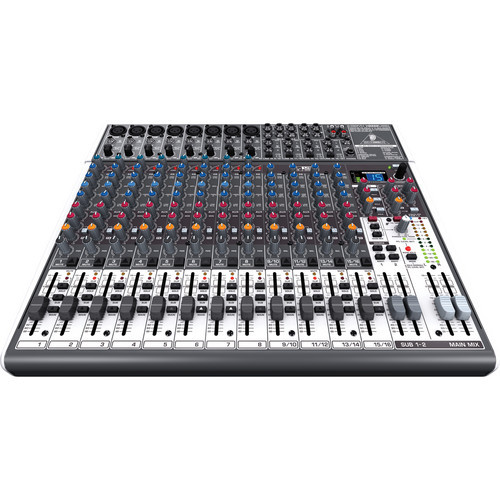 Behringer X2222USB 22-Input USB Audio Mixer with Effects