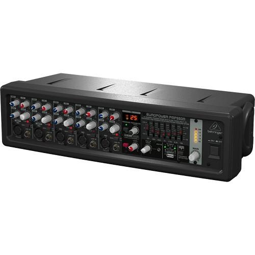 Behringer PMP550M 500-Watt 5-Channel Rackmount Mixer