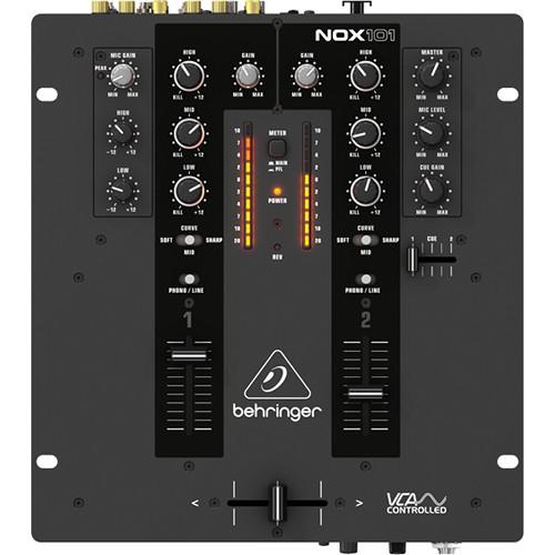 Behringer NOX101 2-Channel Pro DJ Mixer