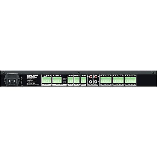 Behringer ZMX8210 3-Zone Commercial Audio Mixer, 8 Inputs