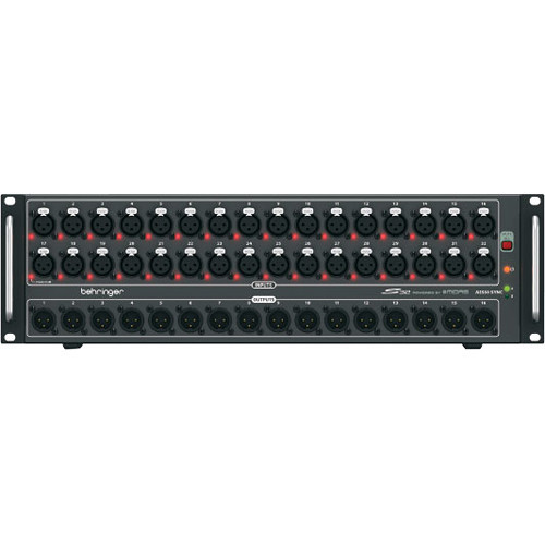 Behringer S32 I/O Digital Mixer, 16 Outputs