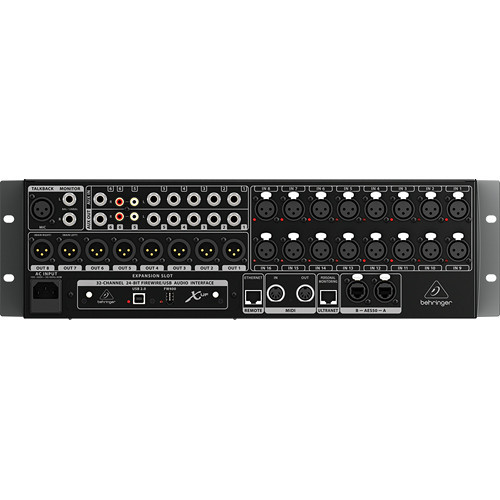 Behringer Rack Digital Mixer with 16 Microphone Preamps
