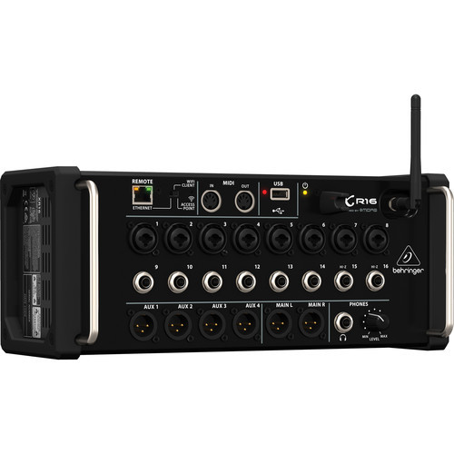 Behringer 16-Input Digital Mixer For iPad/Android Tablets