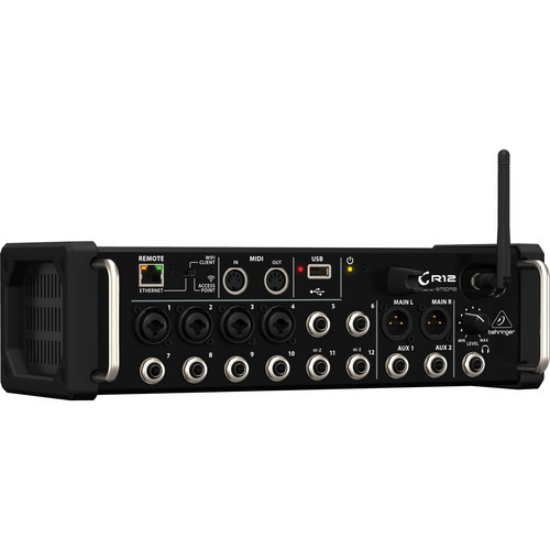 Behringer 12-Input Digital Mixer For iPad/Android Tablets