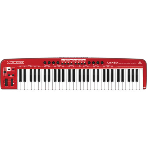 Behringer UMX610 USB/MIDI Keyboard Controller