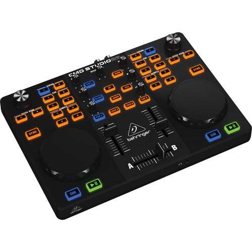 Behringer Ultra-Portable Dual-Deck DJ MIDI Controller