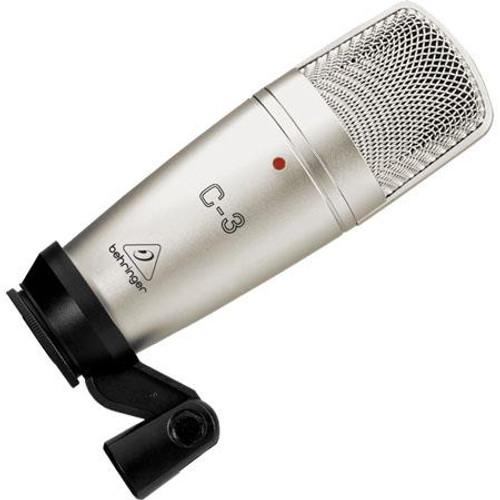 Behringer C3/B Dual-Diaphragm Studio Condenser Microphone
