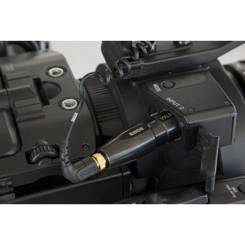 RODE VXLR+ Minijack to XLR Adaptor with Power Convertor in DSLR