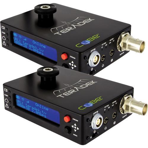 Teradek 10-0623 Cubelet 105/305 HD-SDI Encoder-Decoder pair