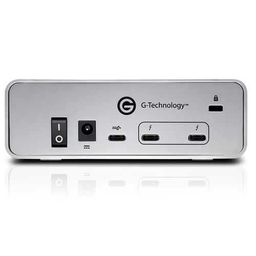 G-Technology 0G05383 12TB G-DRIVE Thunderbolt 3 USB-C Professional Hard Drive, 7200RPM , 2x Thunderbolt™ 3/1x USB-C, All Cables included