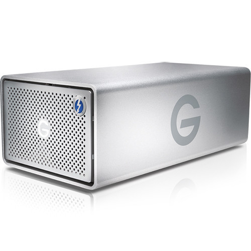 G-Technology G-RAID 24TB 2-Bay Thunderbolt 3 RAID Array (2 x 12TB)