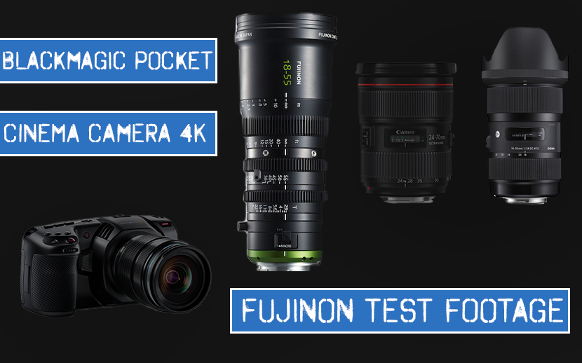 First look & comparison: Fujinon Mk 18-55mm lens with the Blackmagic Pocket Cinema 4K