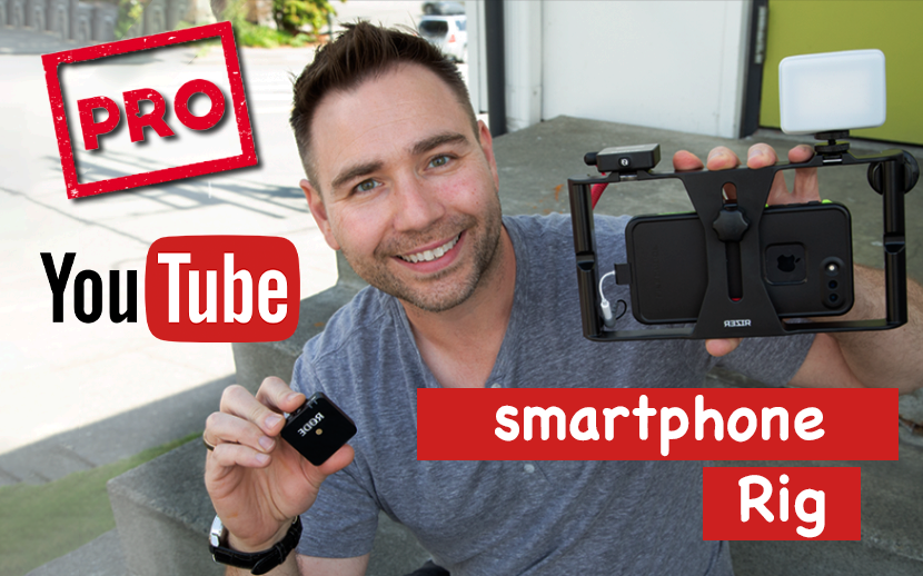 Pro Youtube Smartphone Camera Rig - Rizer Rode Wireless Go and LitraPro