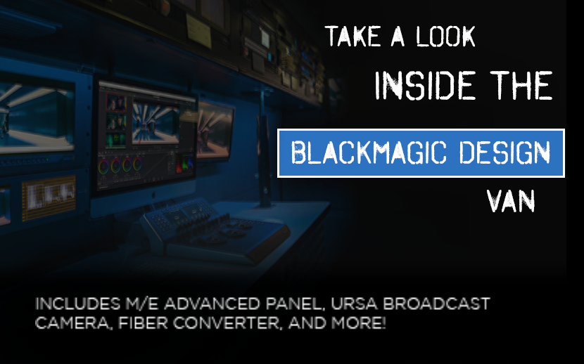 Tour of the Blackmagic Demo Van