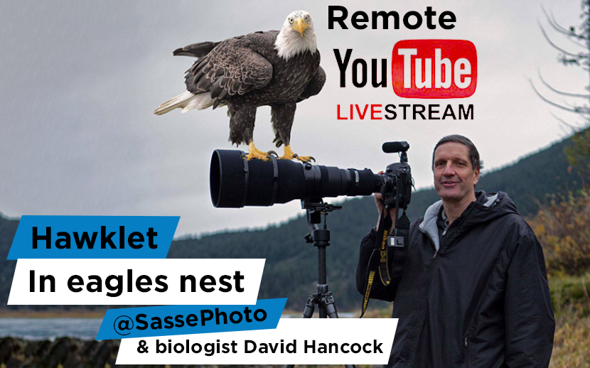 Remote Live Streaming is the future - live-streaming eagle's nest with Christian Sasse  and David Hancock