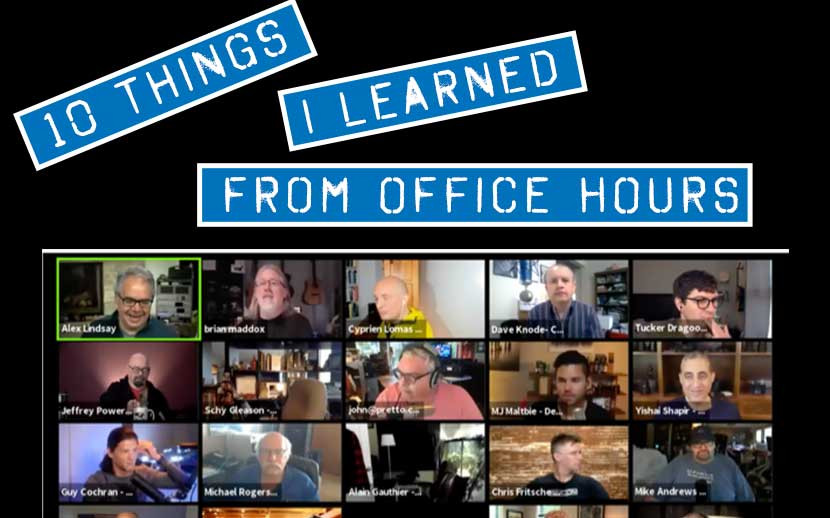 10 Things I learned From Office Hours