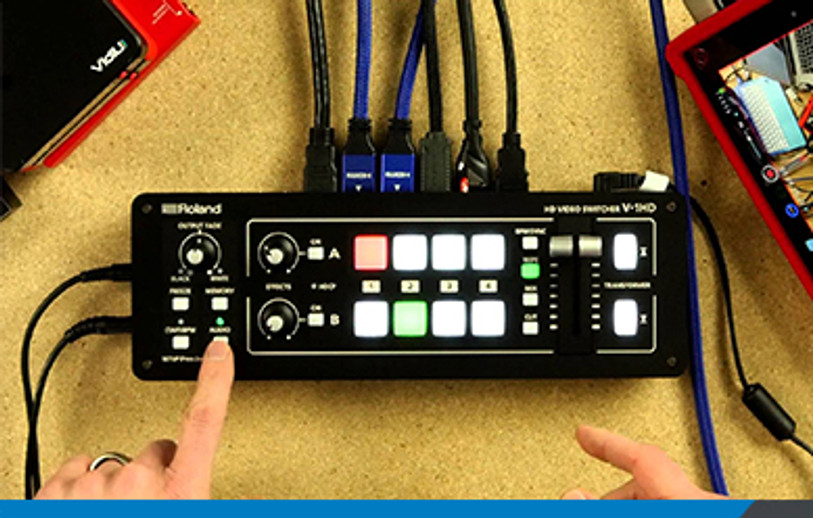 Two Compact, Portable, 4-Camera Live-Switching/Streaming Systems.