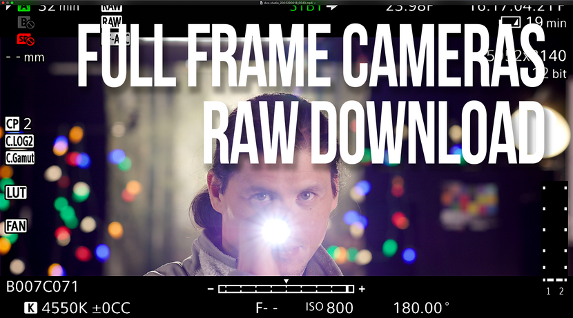 Downloadable sample footage: Sony FX9, Canon C500, Arri Alexa Mini LX, RED Gemini
