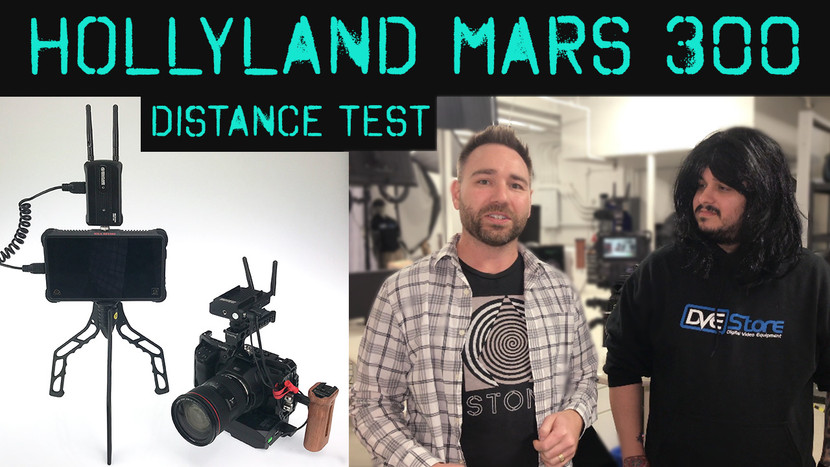 Wireless Video Test with Hollyland Mars 300