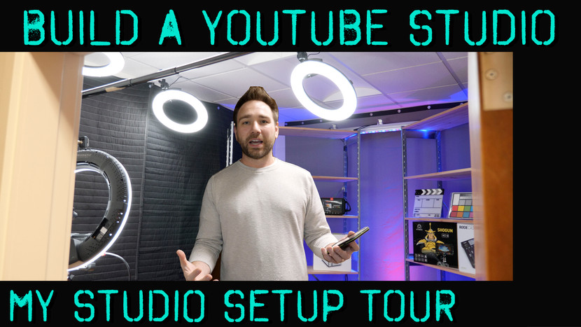 How to Build a Studio for YouTube, Vlogging, How To Videos, and More!