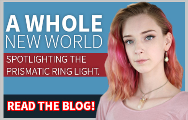 Why Prismatic Ring Light Will Light Up Your World