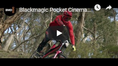 Black Magic Pocket Cinema Camera 4k - Mountain Bike