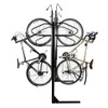 8 Bike double sided locking bike rack