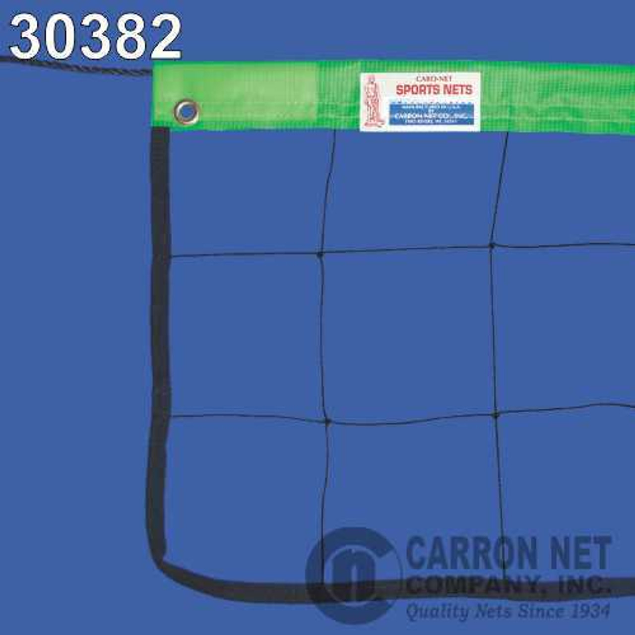 Neon Green Headband With Steel Cable Volleyball Net