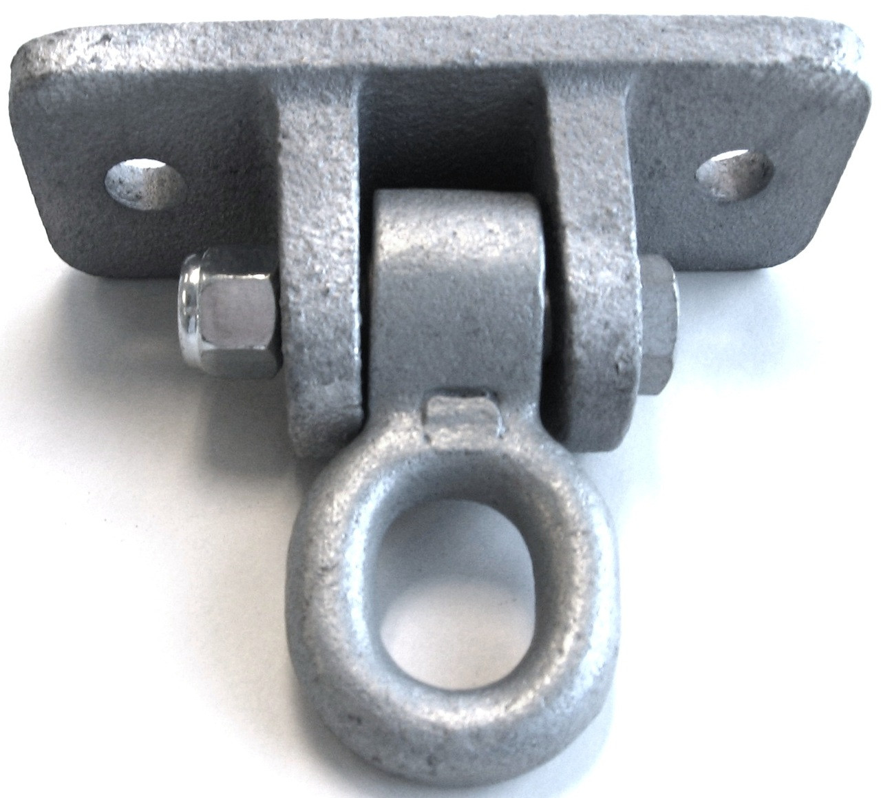 Wood Beam Ductile Iron Swing Hanger 2 Hole Plate