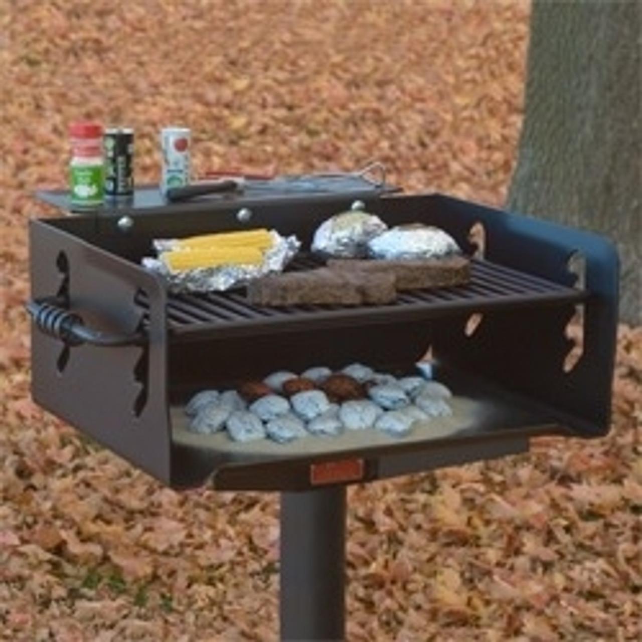 432 sq in camp grill